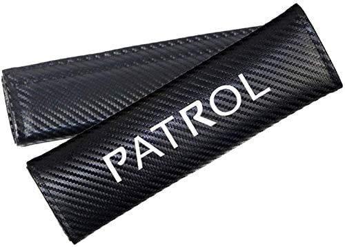 2 Piezas Almohadillas De La Cubierta del Hombro del CinturóN De Seguridad para Nissan Patrol, Respirable Protectores De Hombro Cobertores Auto Accesorios