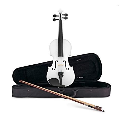 Violino per Studenti 4/4 Bianco di Gear4music