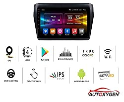 Autoxygen Android System 9 Inch MP4 Music Player HD 1080P Touch screen 2GB Ram For Maruti Suzuki Swift 2018 Onwards,AUTOXYGEN,Maruti Suzuki Swift 2018 Onwards