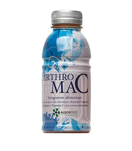 Arthro Mac di Algosfree - Integratore a base di puro succo di Melograno, Aloe Vera e Vitamina C - Drink antiossidante per dolori articolari e artrosi