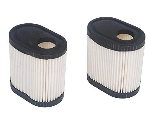 Carkio de Replacement Filtre à air Compatible with Tecumseh # 36905 740083 Une Coupe Lev100 Lev115 Lev120 Lv195ea Ovrm65 Ovrm105 Ovrm120 Engine 2pcs