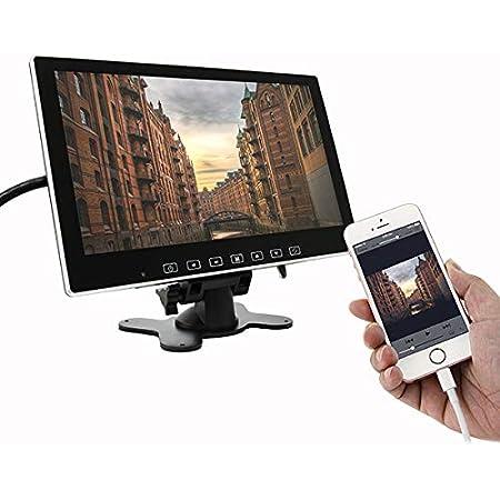 オンダッシュモニター 10.1インチ HDMI搭載 12V 24V 兼用 薄型 軽量 1年保証