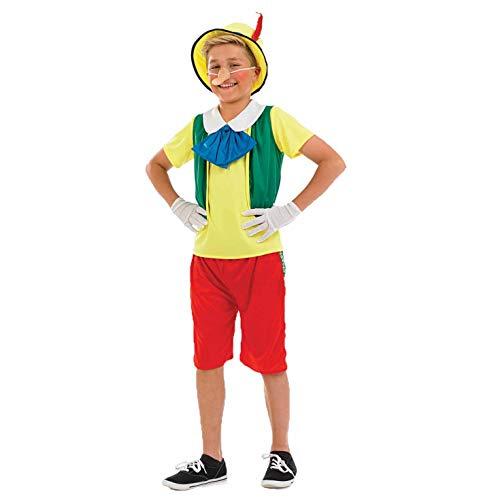 Fun Shack Disfraz de marioneta de Madera Que es un nio de Verdad para Chico. Traje de Personaje de Cuento para la Semana del Libro, Talla XL