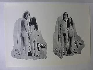 John Lennon and Yoko Ono - Rare Posing Nude Original Poster 24
