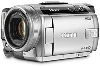 Canon HG10 AVCHD High Definition Camcorder with Optical Image Stabilizer (Discontinued by Manufacturer) (Renewed)
