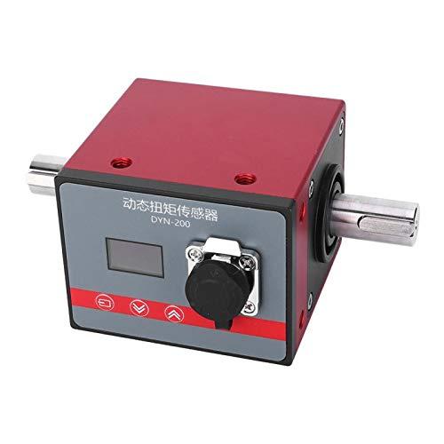 Medidor de torsión de potencia, soporte de pantalla OLED Comunicación RS485 Sensor de torsión dinámico DC24V Sin contacto con línea para valor de torsión medido para valor de velocidad