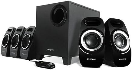 Creative T6300 Sistema di Altoparlanti 5.1, Nero - Trova i prezzi più bassi