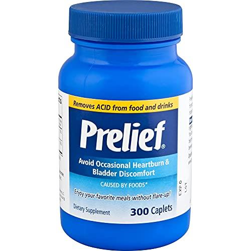 Prelief Acid Reducer Caplets Dietary Supplement, 300 Count