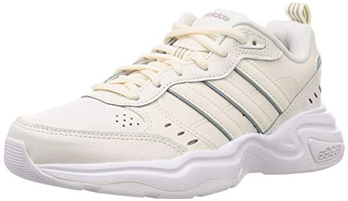 adidas Damen Strutter Fitness-und Trainingsschuhe, Weiß White Cloud Cloud White Grey Ash S18, 36 EU