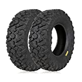 Best Atv Tires - Weize All Terrain ATV Tires, Front 25x8-12, 6PR Review