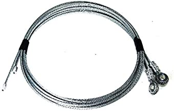 Todco Style Truck Door Cables for Roll up Box Truck Doors - 1/8