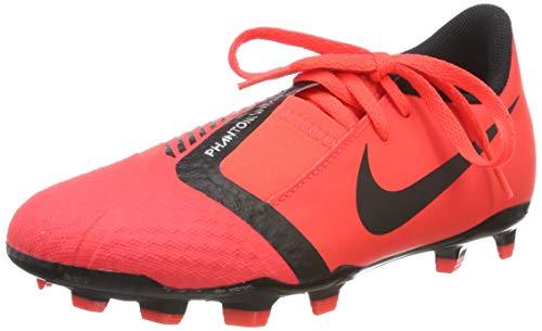 Nike Unisex-Kinder Phantom Venom Academy FG Fußballschuhe, Mehrfarbig (Bright Crimson/Black/Bright Crimson 600), 35.5 EU