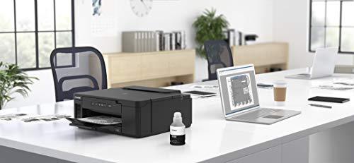 Canon PIXMA GM2050 MegaTank Drucker nachfüllbarer schwarzweiß Tintenstrahl Bürodrucker DIN A4 (WLAN, USB, LAN, Duplexdruck, 2 Papierzuführungen, hohe Reichweite, niedrige Seitenkosten), schwarz