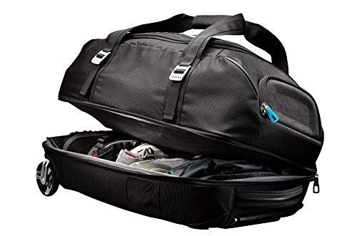 Thule TCRD-2Black Crossover 87 Liter Rolling Duffel Pack