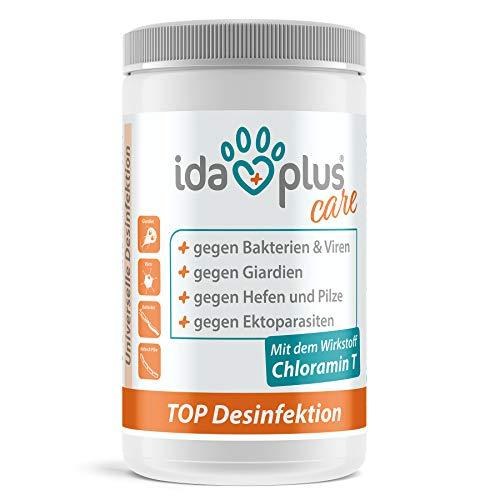 Ida Plus - TOP Desinfektion 1Kg – Universelles Desinfektionsmittel gegen alle behüllte und unbehüllte Viren, Giardien & Bakterien – Desinfektionslösung auf Chlorbasis - Flächendesinfektion