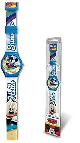 Disney Orologio da Polso ANALOGICO Mickey Mouse Topolino Bambino - WD20381