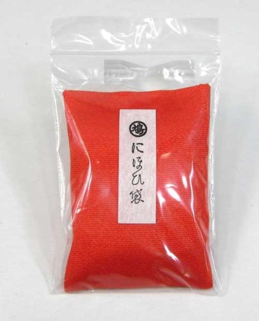 バスルームマーカー防衛にほひ袋 タンス用 角形袋入りお香 赤角形(小) 715