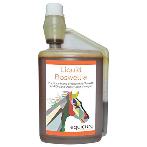 Equicure Liquid Boswellia 1 Litre - Natural Anti-Inflammatory and Pain Relief For Horse/Pony