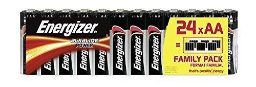 Piles AA Energizer Alkaline Power, Pack de 24