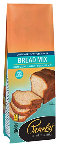Pamela's Products Gluten Free, Bread Mix, 19 Ounce , Pack of 6
