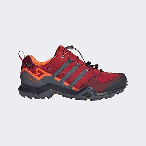 adidas Hombre Terrex Swift R2 GTX Zapatos de Running Rojo, 38 2/3
