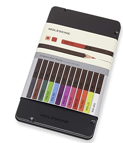 Moleskine - Lápices de acuarela (12 colores)