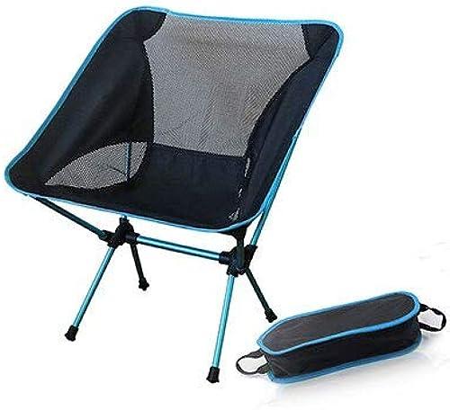 STARKWALL Siège portable Chaise De Pêche Léger Rapide Russie Stock Camping Tabouret Pliant Mobilier De Jardin portable Ultra lumière Chaise Bleu Ciel
