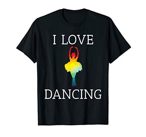 Ich liebe das Tanzen T-Shirt