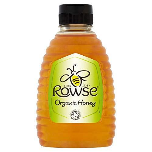 Rowse Squeezable Organic Honey, 340g