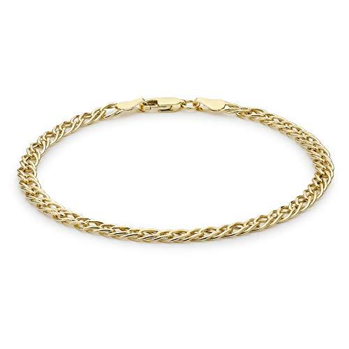 Carissima Gold Braccialetto Unisex, Oro Giallo 9K (375), Missura 19 cm