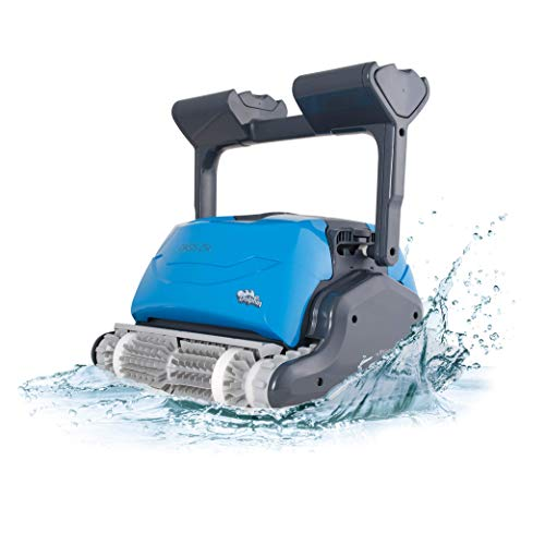 DOLPHIN Oasis Z5i WiFi Operated Robotic Pool [Vacuum} Cleaner - Ideal for In Ground Swimming Pools up to 50 Feet - Easy to Clean Top Load Filter Cartridges