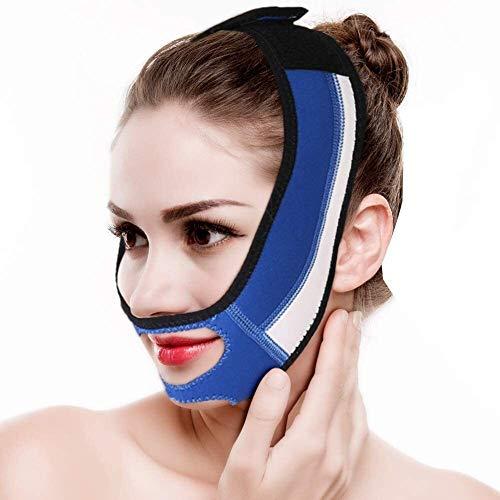 Bandages Masque Facial Minceur Visage Ceinture Amincissante et maillant raffermissant la Peau du Visage et des Rides Réducteur Soins V Ligne compacte