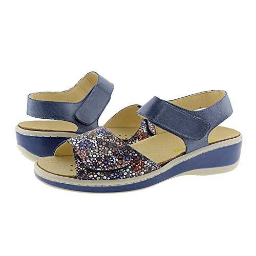 Sandalias Velcro Doctor Cutillas Talla: 37 Color: Marino