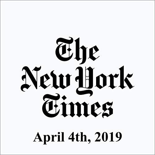 April 4, 2019 copertina