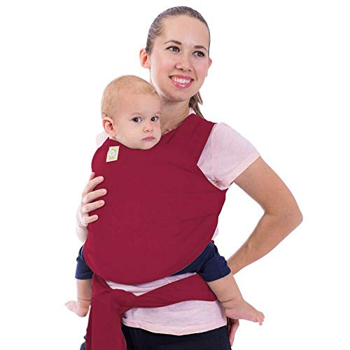 Baby Wrap Carrier - All in 1 Stretchy Baby Sling - Ergo Carrier Sling - Baby Carrier Wraps - Baby Carriers for Newborn, Infant - Baby Holder Straps - Baby Slings - Baby Sling Wrap (Royal Magenta)
