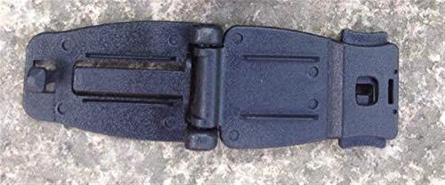 Kit multiherramienta 3 unids/lote bolsa de camping hebilla mochila cinturón clip táctico al aire libre SWAT mosquetón camping equipo EDC herramientas regalos para hombres (color: negro)