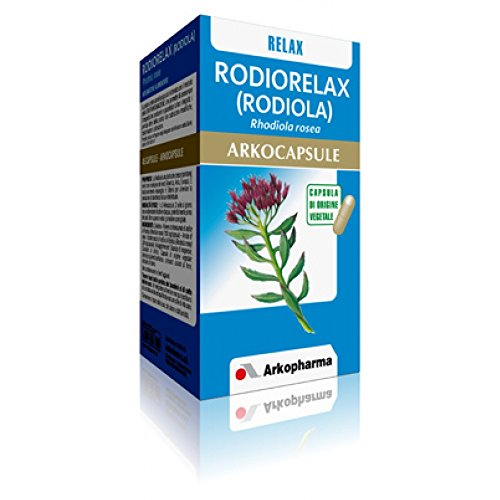 Arkopharma Integratore Alimentare Rodiola Arko Capsule, 45 Capsule