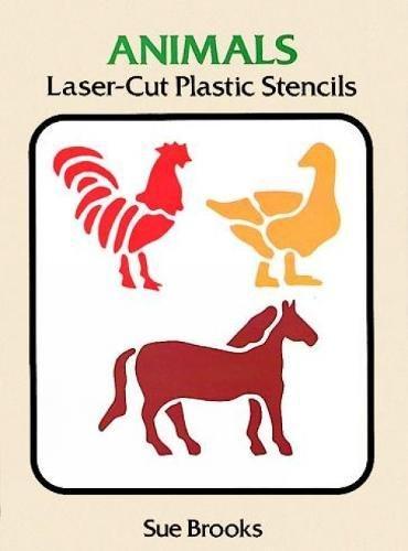 Animals Laser-Cut Plastic Stencils (Laser-Cut Stencils)