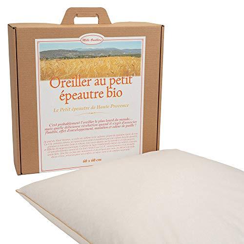 Mle almohadas con espelta biológica de alta provenencia, 60 x 60 cm