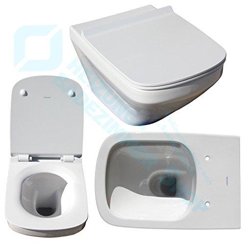 DURAVIT Durastyle WC Set incl. Sitz Rimless - ohne Spülrand