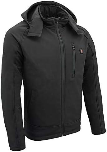 Milwaukee Leather Performance Men's Heated B 直営ストア 受賞店 Soft w Jacket Shell