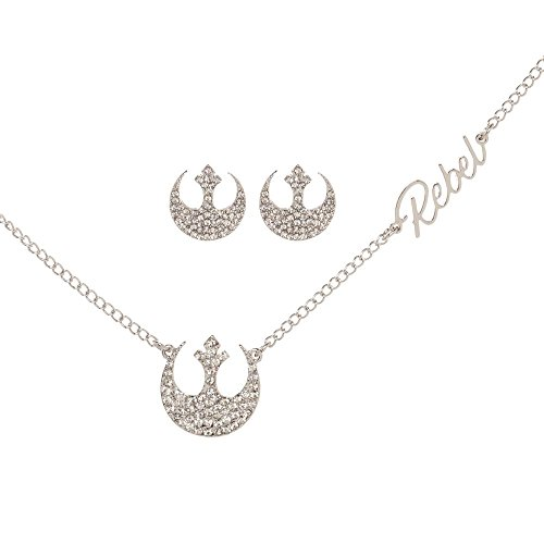 Star Wars Rebel Alliance Necklace and Earrings Set