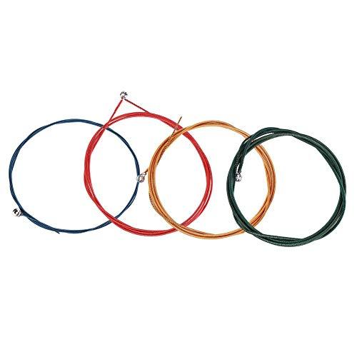Fafeims Cuerda para bajo eléctrico, Cuerda de Acero 4Pc para bajo eléctrico...