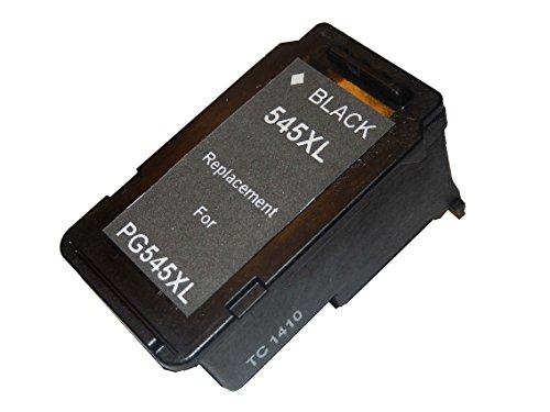 vhbw Refill Druckerpatrone Tintenpatrone Schwarz kompatibel mit Canon Pixma IP-2850, IP2850, MG-2450, MG-2455, MG-2550, MG2400, MG2450 Ersatz für PG-545, PG-545XL.