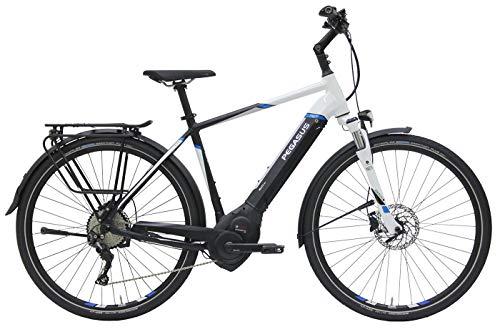 Herren E-Bike 28 Zoll - Pegasus Premio Evo 10 - Bosch Performance Line CX Mittelmotor, Akku 500Wh, Shimano Schaltung, schwarz
