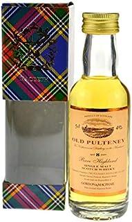 Rarität: Old Pulteney Whisky 8 Jahre 0,05l G&M Miniatur - Single Malt Scotch Whisky