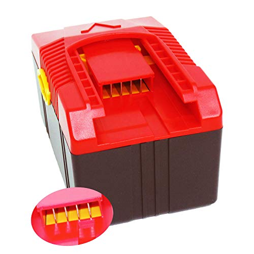 PowerWings 18V 5000mAh Battery Replace for Snap on Lithium ion Battery CTB6187 CTB6185 CTB4187 CTB4185 Power Tools Battery Compatible for Snap on 18 Volts 5amp Impact Wrench Battery 90Wh