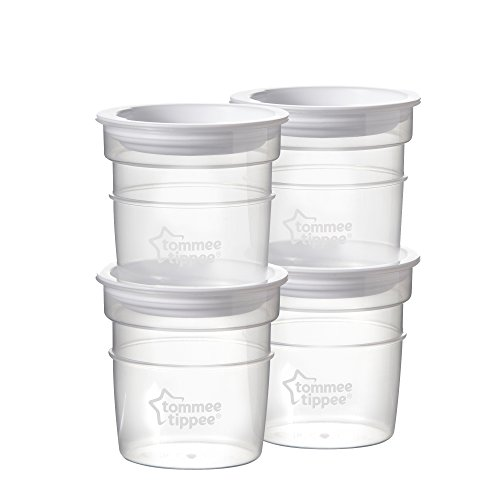 Tommee Tippee Closer To Nature Sistema Conservalatte (4 pezzi)