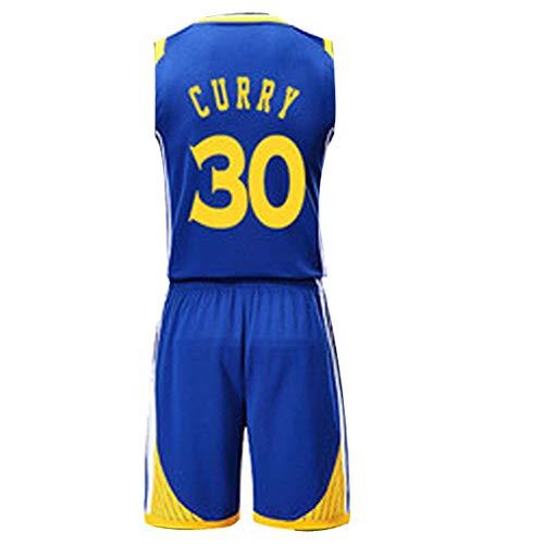 YSA Stephen Curry Kevin Durant # 35 30 Maglia da Basket Golden State Warriors M-XXXL & ndash;Costume Abbigliamento Sportivo Abbigliamento per Uomo, Traspirabilità Buono