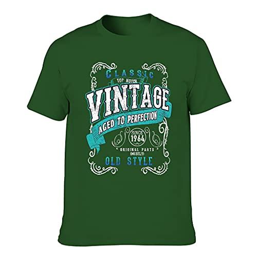 Vintage 1964 Aged Perfection Camisetas - Regalos de cumpleaños Vintage para hombres Camisa